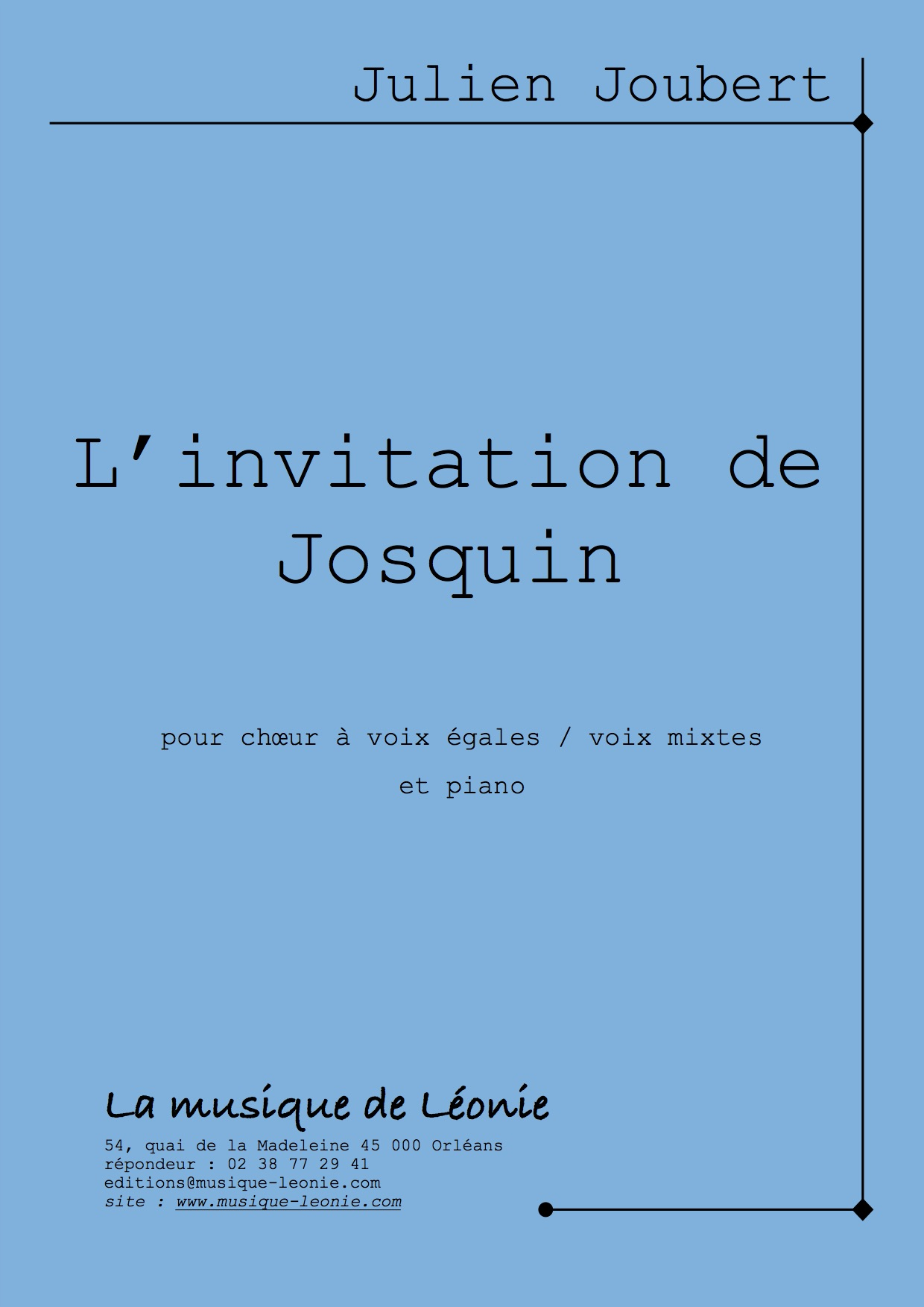 L Invitation De Josquin Julien Joubert